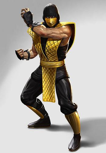 Mortal Kombat 9 Classic Scorpion