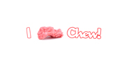 ilovechew.com wallpaper featuring a nice high-res pink chewed piece of gum