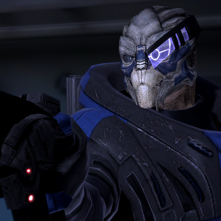 tough-guy Turian / one come-on line from Femshep / a highschool junior #haiku