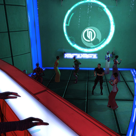 Shepard at the club /     the galaxy's worst dancer / stick to shooting guns #haiku