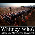 Whitney Houston gets more attention than US troops in Iraq