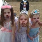cute little zombie girls