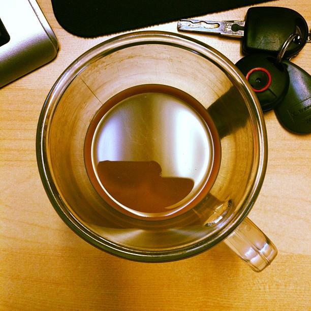 Coffee understands / the design collateral / zero progress made