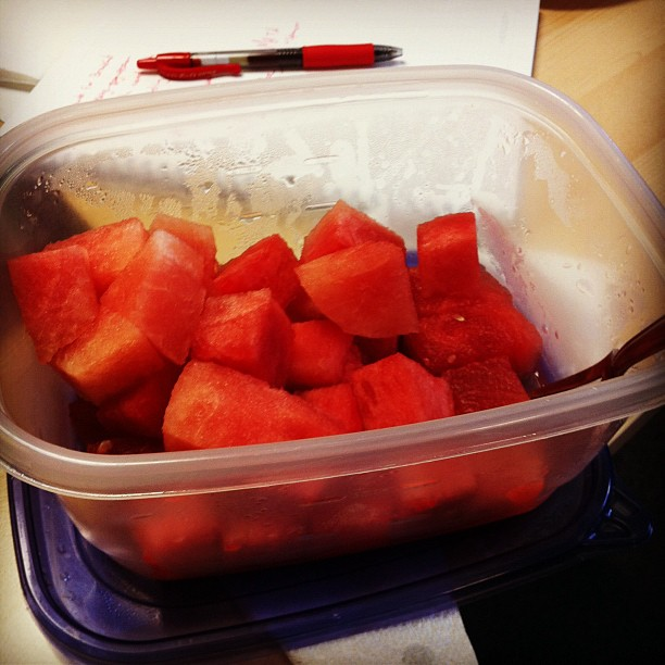 Watermelon snack / James Williams' forgetfulness / Alex Krasny's gain