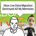 xbox data loss blog post feature image, alex krasny ranting over xbox live promotional backdrop