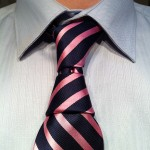 how to tie a krasny hourglass necktie knot