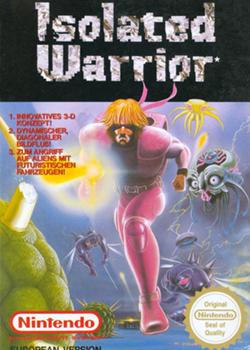 purple warrior running through sci-fi setting