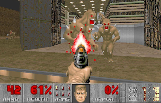 Doom, retro gaming!