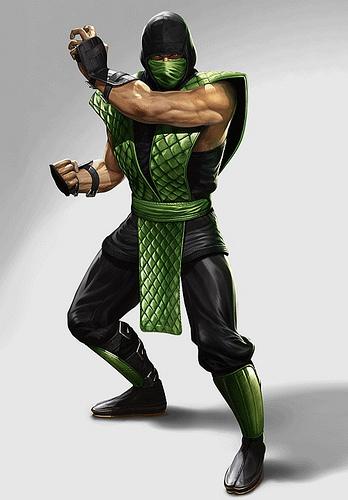 Mortal Kombat 9 Classic Reptile