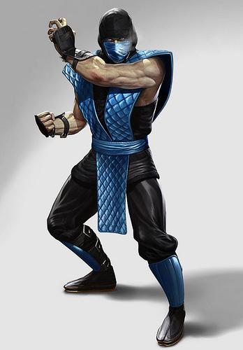 Mortal Kombat 9 Classic Sub-Zero