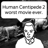 Alex Krasny reviews Human Centipede Two youtube video