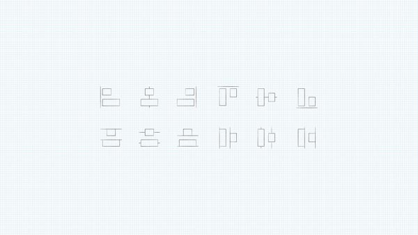 align and distribute symbol wallpaper graph paper theme