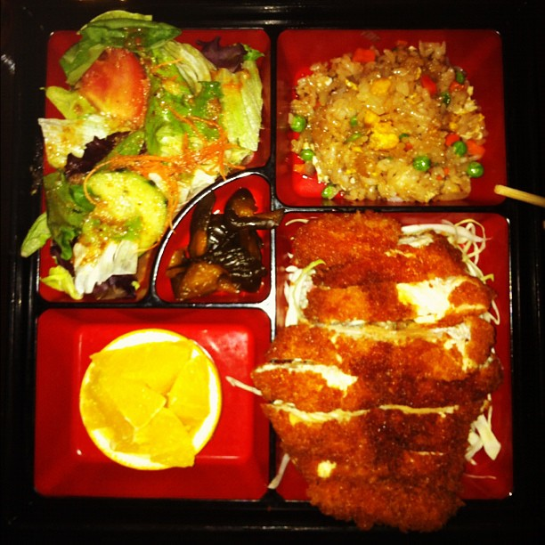 Lunch exploration / Sushi Tango bento box? / I'd have it again