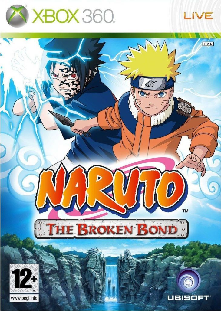 naruto broken bond xbox game