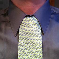 Onassis necktie knot