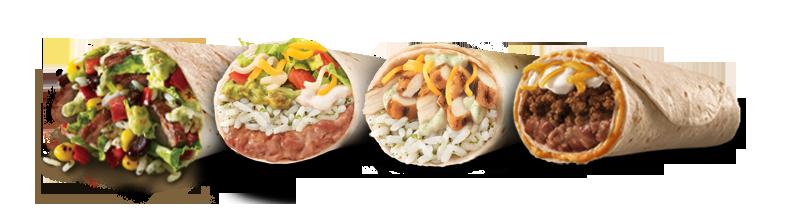 Taco Bell Burritos