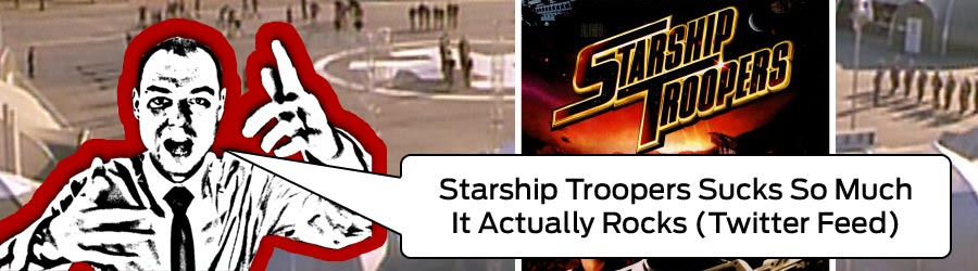 Starship Troopers Alex Krasny live twitter feed archive