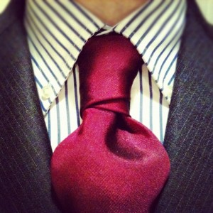 cross or christensen knot with a jacket