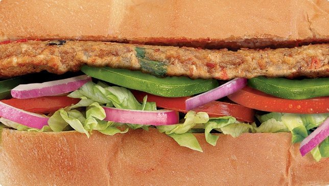 subway veggie patty