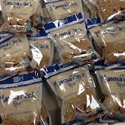 Feed My Starving Children bags ready for shipments