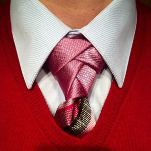 how to tie an eldredge necktie knot