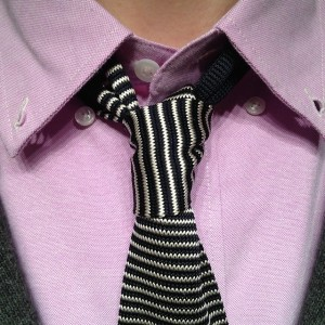 how to tie a four in hand necktie knot