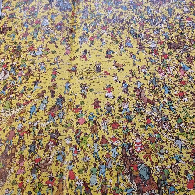 Where is Waldo in the gold rush