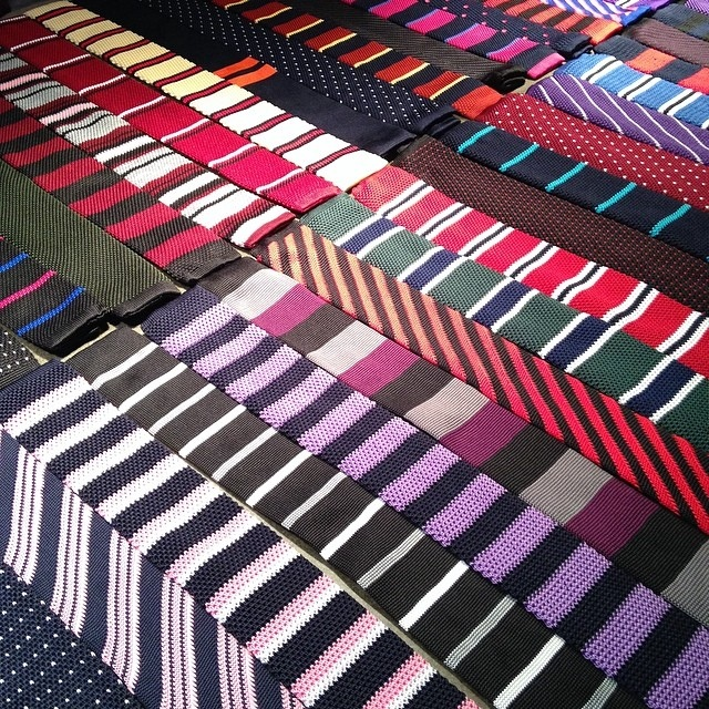 50 knit ties from combat gent