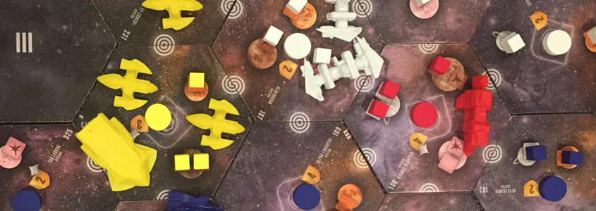 Board Game Night Report September 16, 2017: Eclipse Game 2